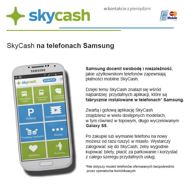SkyCash wSamsung