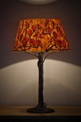 Jerzy Sarkowicz - drewniana lampka