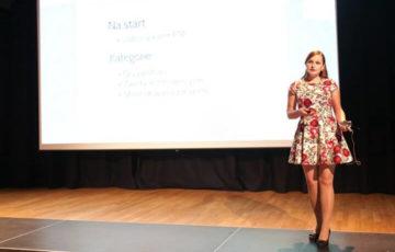 Katarzyna Janoska na WordCamp Polska 2015