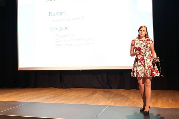 Katarzyna Janoska naWordCamp Polska 2015