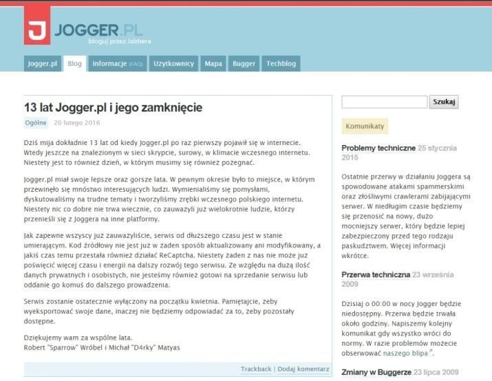 Jogger.pl