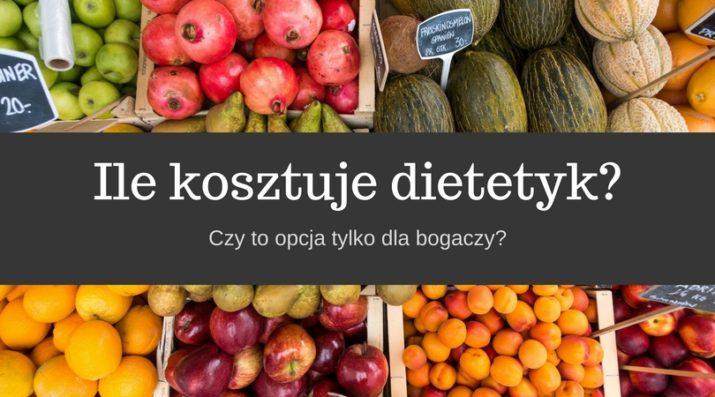 Ile kosztuje dietetyk?