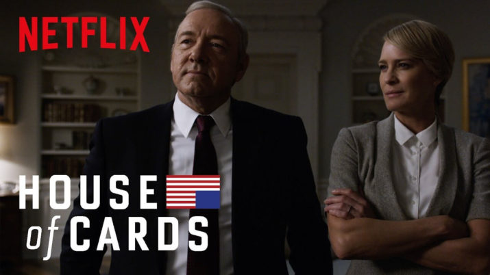 Seriale z Netflix - House of Cards