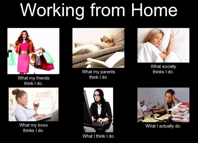 Praca zdomu vs rodzina