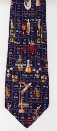 Prezent dla chemika - krawat