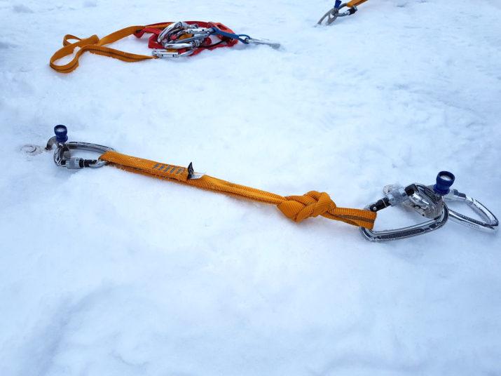 Kurs Turystyki Zimowej - Śruby lodowe