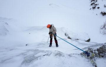 Kurs Turystyki Zimowej - Zjazd
