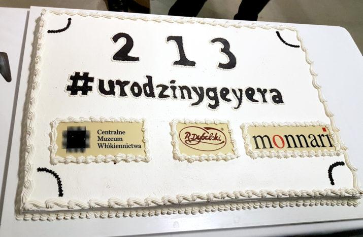 Urodziny Ludwika Geyera - tort
