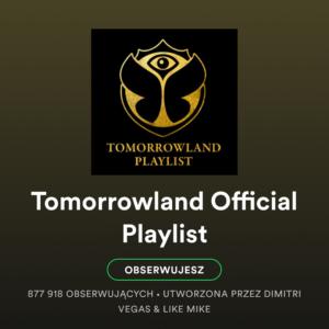 Dźwięki dopracy - Tomorrowland