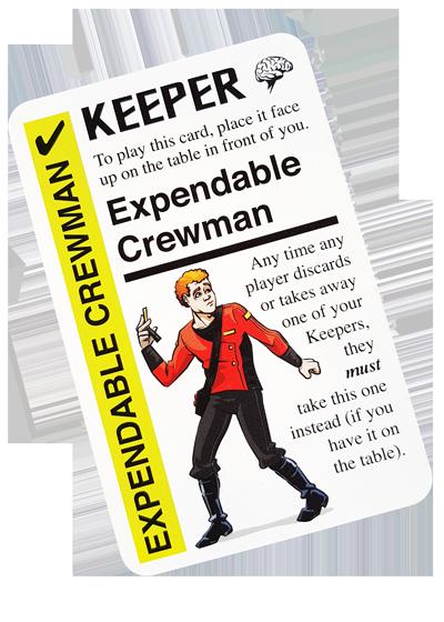 Fluxx - Expendable Crewman